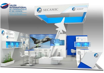 Paris Air Show 2017 Secamic